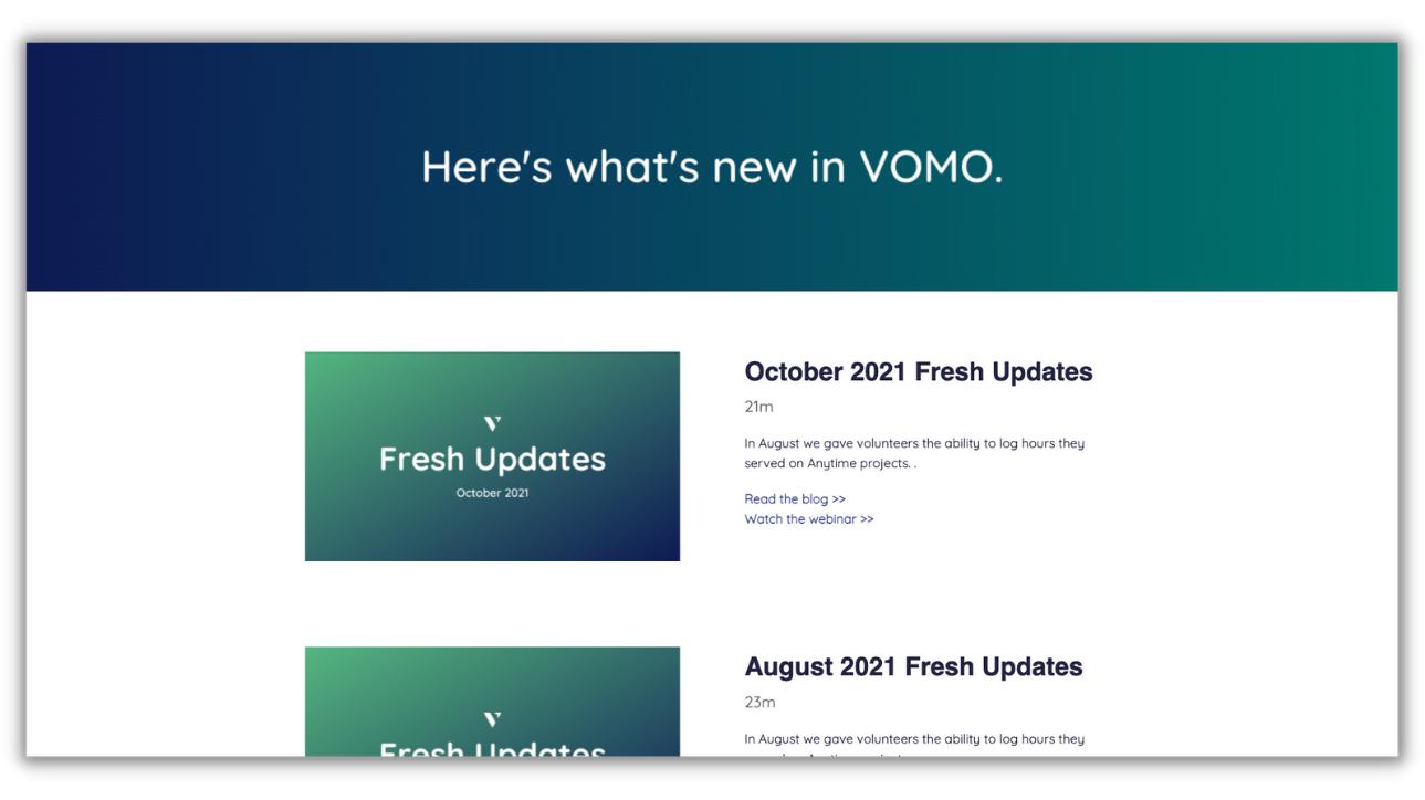Fresh Updates (12)